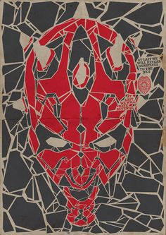 Darth Maul Created by El LoCo Prints available at Society6.