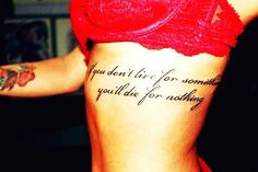 """maybe this placement with the quote """"Look not mournfully into the past, it comes not back again"""""""