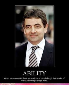 He is an English actor, comedian, and screenwriter who is best known for his work on the sitcoms Mr. Bean and Blackadder Mr Bean – the funniest man alive Rowan At… I Love To Laugh, Make Me Smile, Mr. Bean, The Meta Picture, Blackadder, Vanellope, People Laughing, Just For Laughs, Bullshit