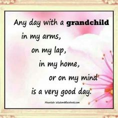 Soon I get to be with my grandchildren everyday! :) Not out of state like some long distance grandparents. Soon I get to be with my grandchildren everyday! :) Not out of state like some long distance grandparents. Grandkids Quotes, Quotes About Grandchildren, Great Quotes, Me Quotes, Inspirational Quotes, Motivational, Grandma Quotes, Grandparents Day, Family Quotes