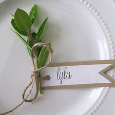 The simplicty speaks to me. So sweet. This Is Happiness: thankful tablescape – The Best Ideas Thanksgiving Place Cards, Thanksgiving Tablescapes, Thanksgiving Decorations, Wedding Table, Diy Wedding, Rustic Wedding, Dream Wedding, Name Place Cards, Name Cards