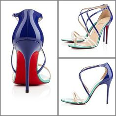 #Louboutin Gwynitta 100mm Neptune Version