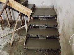 Resultado de imagem para escada de concreto como fazer