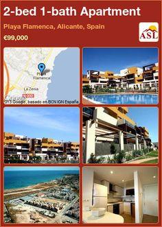 2-bed 1-bath Apartment in Playa Flamenca, Alicante, Spain ►€99,000 #PropertyForSaleInSpain