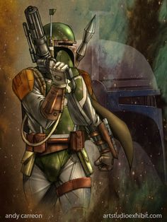 Boba Fett by Andy Carreon