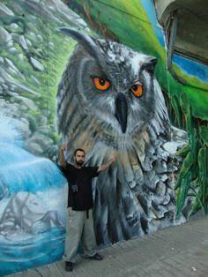 . 3d Street Art, Urban Street Art, Street Art Graffiti, Street Artists, Urban Art, Pavement Chalk Art, Buildings Artwork, Spray Can Art, Street Gallery