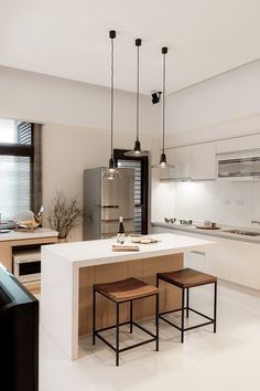 10 Inspiring Modern Kitchen Designs – Modern Home Kitchen Interior, Home Decor Kitchen, Kitchen Remodel, Kitchen Decor, Kitchen Remodel Small, Kitchen Decor Pictures, House Interior, Home Kitchens, Kitchen Design