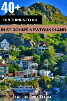 There are so many fun things to do in St. John's Newfoundland that you'll want a few days to explore this vibrant city. Discover the best places to visit, restaurants to eat, and where to stay while visiting St. John's NL. #StJohns #Newfoundland