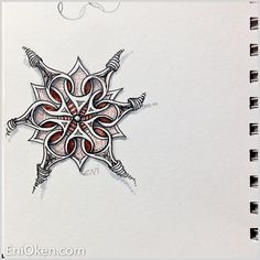 Waybop is one of the newest tangles by Zentangle Inc. Learn to create amazing Zentangle®️ • enioken.com