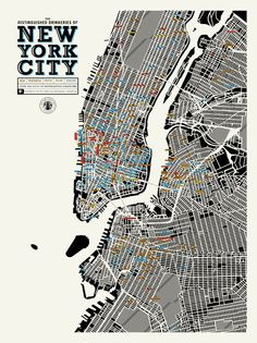 Pop Chart Lab -- Design + Data = Delight -- The Distinguished Drinkeries of New York City