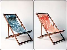 handmade deck chairs