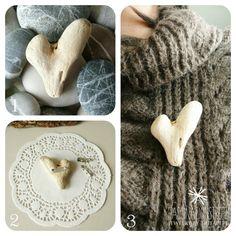 Fascinationstreet B-handmade: Cuore di legno/Driftwood heart
