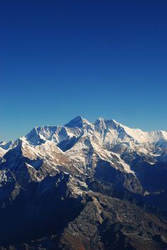 Mount Everest in Himalayas. | See More Pictures | #SeeMorePictures