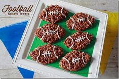 Rice Krispie Treats are an American staple! They are personally one of my absolute favorite treats! Use the chocolate variety and shape them while they are still warm and you have these awesomeFootball Rice Krispie Treats. This post may contain affiliate links. These links support this site at no additional cost to you. PIN THIS …