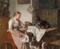 Adolf Eberle, psy w dawnych czasach, blog historia, blog historyczny