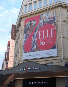 Le magazine ELLE fête ses 70 ans au BHV Marais - Elle