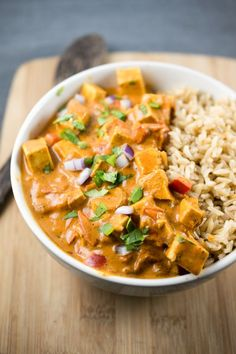 Slow Cooker Tofu Tikka Masala | Yup, it's vegan | Bloglovin'