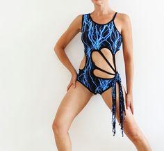 Pole performance costume dance bodysuit pole by CrinolinAtelier