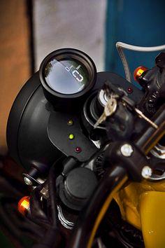 Cafe Racer Motorcycle, Moto Bike, Motorcycle Design, Bike Design, Cafe Racer Headlight, Cafe Racer Parts, Cafe Racer Build, Cafe Bike, Cafe Racer Bikes
