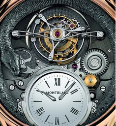 Montblanc Collection Villeret Tourbillon Bi-Cylindrique 110 Years Anniversary Limited Edition Watch Watch Releases