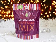 Gluten & Dairy Free Christmas Fruit Cake Mix 650g - Ecotopia Shop