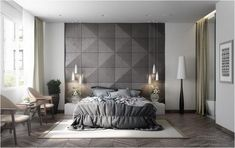 90+ Unusual White And Grey Master Bedroom Interior Design