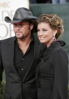 Tim McGraw and Faith Hill - married since 96