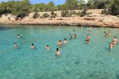 Quien necesita piscina con este agua http://ibiza-travel.net/cala-grasioneta/