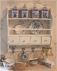 RH Escala 1:12 De Cerámica Pintado A Mano Juego de té chino casa de muñecas en miniatura