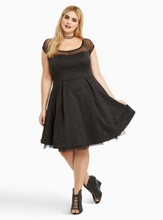 Lace up corset dress torrid