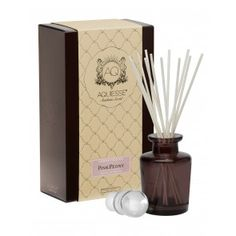 Aquiesse - Portfolio Collection - Pink Peony  - Reed Diffuser Gift Set