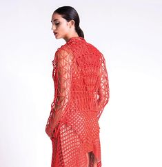 danit peleg 3D prints entire graduate fashion collection at home