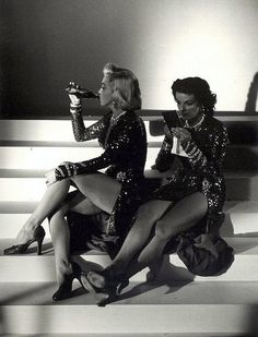 The Behind the Scenes Pic of the Day - On the set of Gentlemen Prefer Blondes - Ain't It Cool News