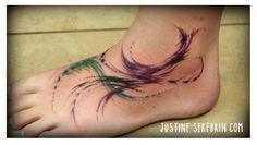 Tattoos by Justine Serebrin, www.justineserebrin.com  Holistic Tattoo Studio, Toluca Lake, CA  unique tattoos, new tattoos, tattoo designs, tattoo ideas, watercolor tattoos, watercolor, painting, painted tattoo, ink, inked girls, tatted girls, girls with tattoos, tattooed girls, tattooed lady, creative tattoos, artistic tattoos, artsy tattoos