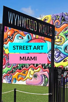 Wynwood Walls, Street Art in Miami, Florida // this place looks incredible! seriously chock-full of art.