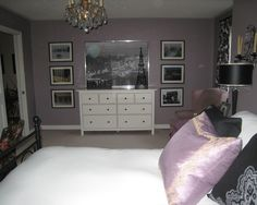 Paris Theme Bedrooms Design, Pictures, Remodel, Decor and Ideas