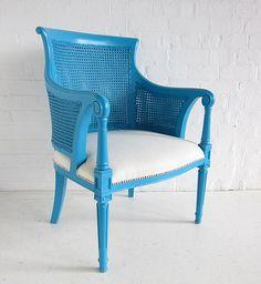 Dutch Rattan Tub Chair by Hidden Mill. Create yours www.hiddenmill.com