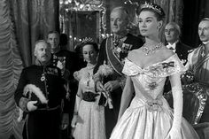 """Audrey Hepburn in """"Roman Holiday"""" Costume Design by Edith Head Audrey Hepburn Mode, Audrey Hepburn Roman Holiday, Gregory Peck, Classic Wedding Dress, Wedding Dresses, Audrey Hepburn Wallpaper, Edith Head, Holiday Costumes, Princess Anne"""