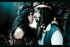 Angelica Teach and Jack Sparrow - tango version by BabiSparrow.deviantart.com on @deviantART