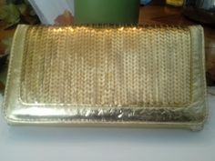 Check out this item in my Etsy shop https://www.etsy.com/listing/200406702/gold-shimmering-sequin-clutch