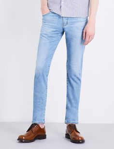 AG Jeans - Blue Tellis Slim-fit Tapered Jeans for Men - Lyst Ag Jeans, Blue Jeans, Tapered Jeans, Mustang, Bag Accessories, Slim, Fitness, Stuff To Buy, Clothes