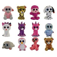 TY Mini Boos Series 3 Assorted are hand painted figurines that are an absolute necessity for any TY . Toys For Girls, Beanie Boo Dogs, Ty Beanie Boos Collection, Ty Peluche, Ty Animals, Beanie Boo Birthdays, Mini Boo, Stone Art Painting, Comics
