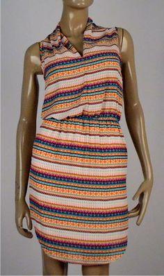 Vestido multicolor $125.000 Tallas S, M y L