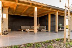 Veranda | Wesselshoek Outdoor Lounge, Outdoor Rooms, Outdoor Gardens, Outdoor Living, Backyard Sheds, Backyard Landscaping, Pergola, Gazebo, Bike Shed