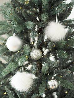 Fluffy Christmas Tree Decoration #ad #ChristmasTree