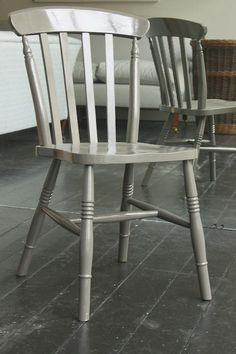 Furniture: Painted Windsor Chairs From Howe In London