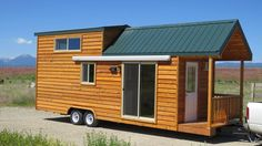 Rich's Portable Cabins has built so many tiny homesthat I just have to keep showing you the options that are possible for tiny house living. And they come in all shapes and sizes. It's important t...
