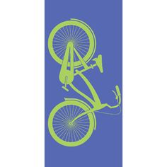 Mainstays Bike Print Beach Towel, 2 Pack