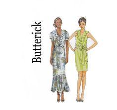 Butterick 5879 Cute 1920s inspired Dress & Sash by ViennasGrace, $8.00