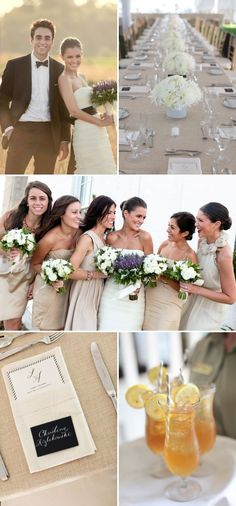 Neutral wedding